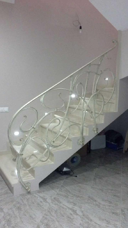 Кованые перила для лестницы Артикул № 016