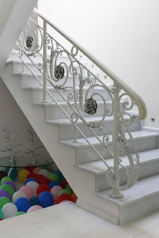 Кованые перила для лестницы Артикул № 007
