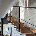 Недорогие металлические перила для лестницы