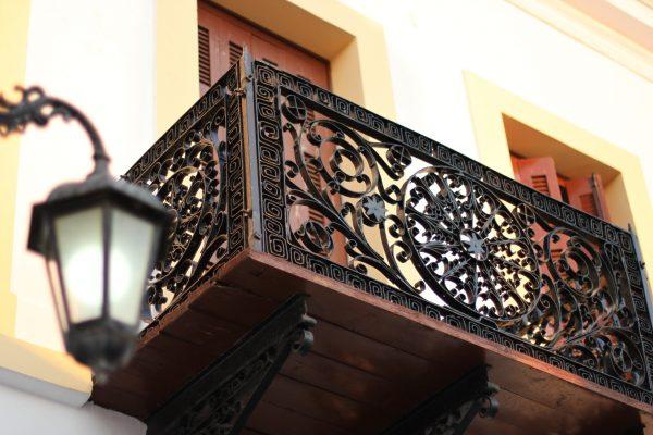 Кованые ограждения балконов Артикул № 044