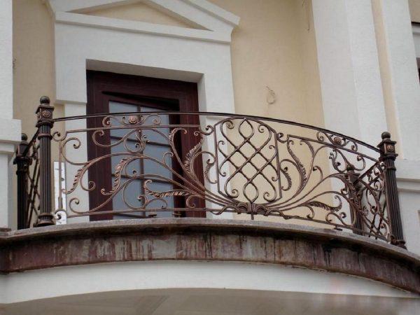 Кованые ограждения балконов Артикул № 046