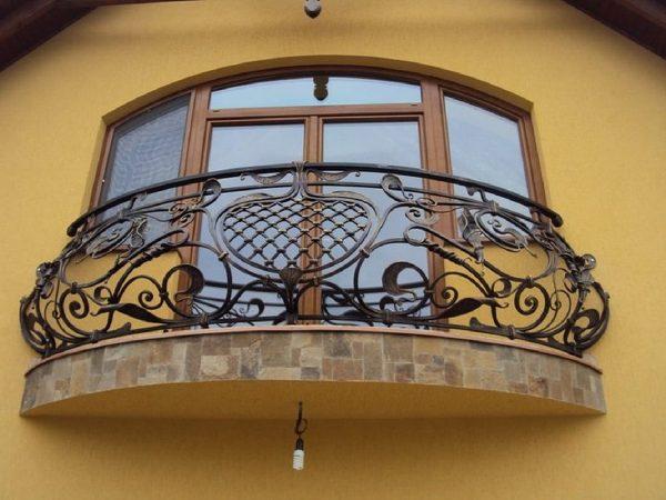 Кованые ограждения балконов Артикул № 047