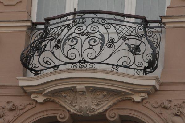 Кованые ограждения балконов Артикул № 049