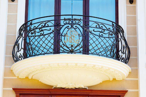 Кованые ограждения балконов Артикул № 034