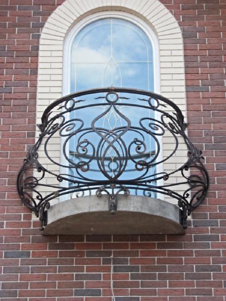 Кованые ограждения балконов Артикул № 053