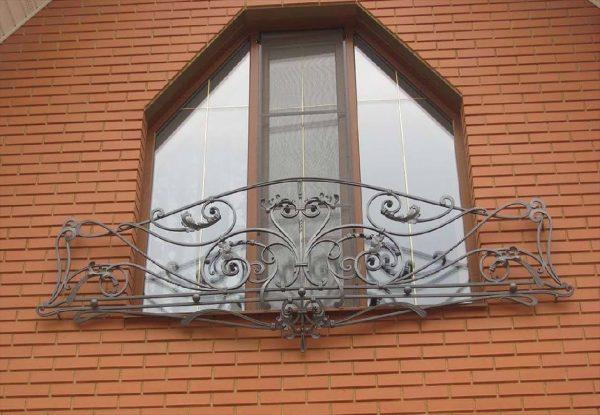 Кованые ограждения балконов Артикул № 038