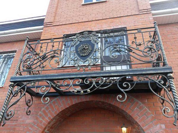 Кованые ограждения балконов Артикул № 042