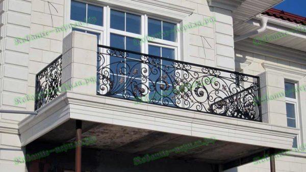 Кованые перила для балкона Артикул № 207