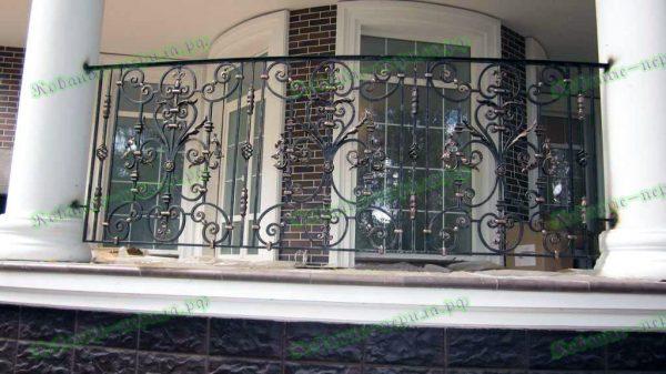 Кованые перила для балкона Артикул № 212