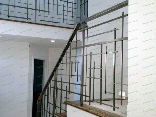 Лестничные перила геометрических форм Артикул № 228