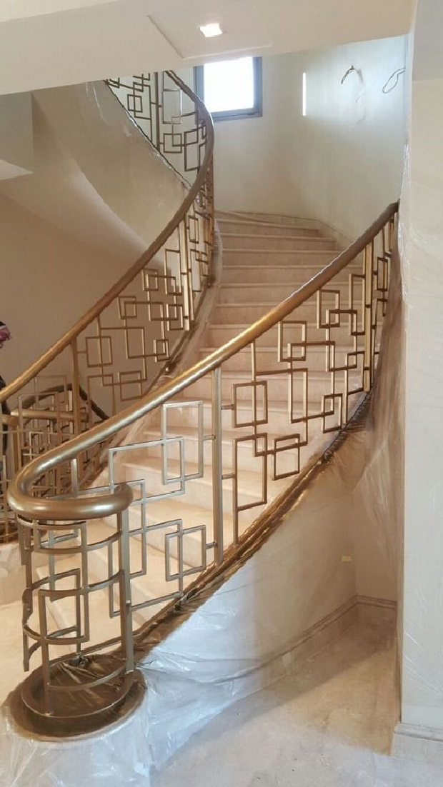 Кованые перила для лестницы Артикул № 014