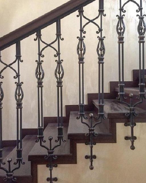 Кованые перила для лестницы Артикул № 003