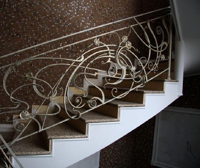 Кованые перила для лестницы Артикул № 005