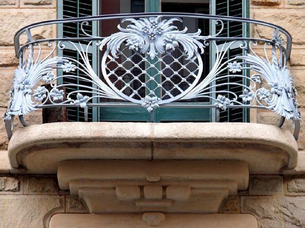 Кованые ограждения балконов Артикул № 033