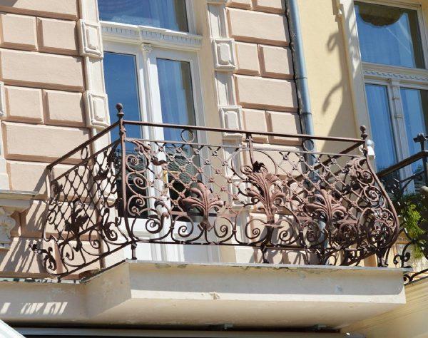 Кованые ограждения балконов Артикул № 048