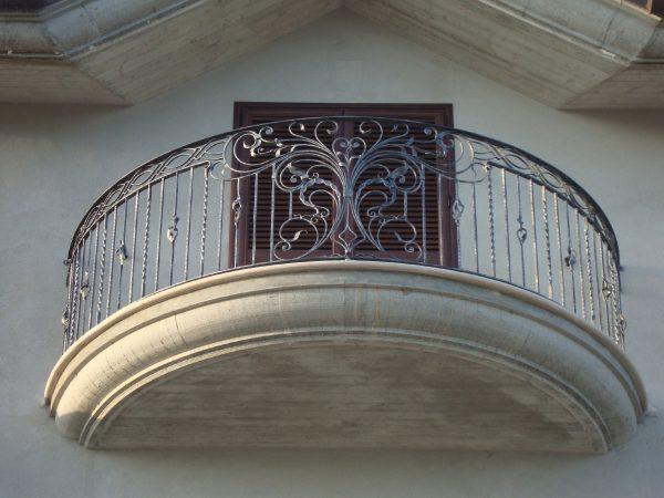 Кованые ограждения балконов Артикул № 050