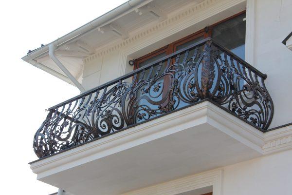 Кованые ограждения балконов Артикул № 035