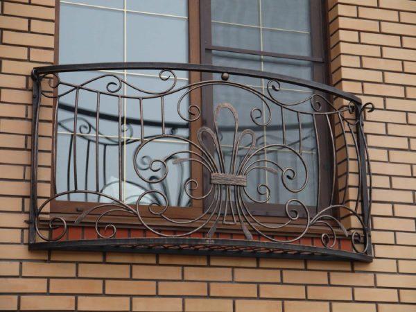 Кованые ограждения балконов Артикул № 036