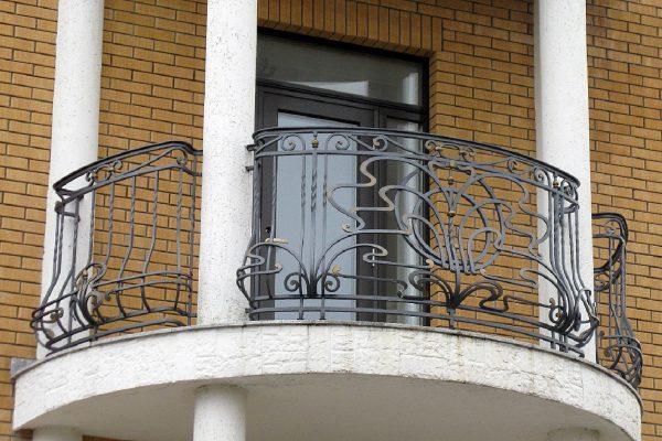 Кованые ограждения балконов Артикул № 039