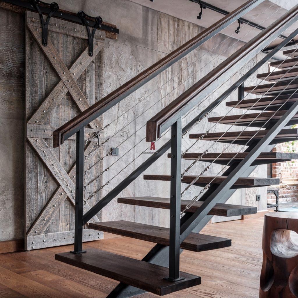 выделится подчеркнуть лестницы в стиле лофт фото неё центр каждый
